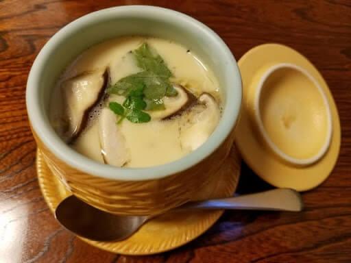 Chawamushi is a savory Japanese pudding.